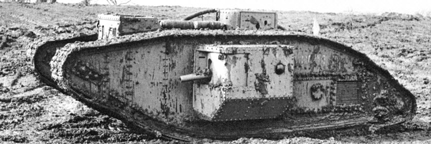 Tanks of World War 1